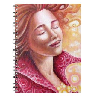 """Cuaderno """"Flor de Amor """""""