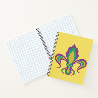 Cuaderno Flor de lis del carnaval