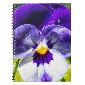 Cuaderno Flor grande de la viola