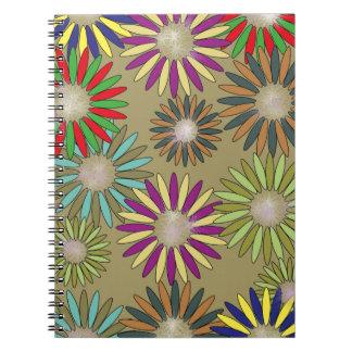 Cuaderno Floral Fantasy