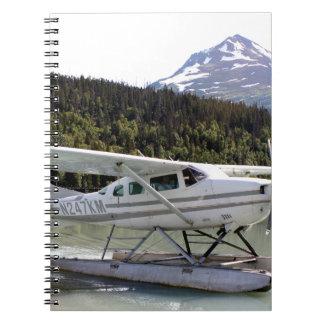 Cuaderno Flote plano, lago trail, Alaska 3