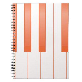 Cuaderno Fondo dominante del piano