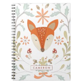Cuaderno Fox caprichoso del arbolado