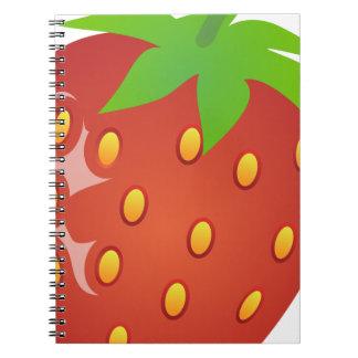 Cuaderno Fresa