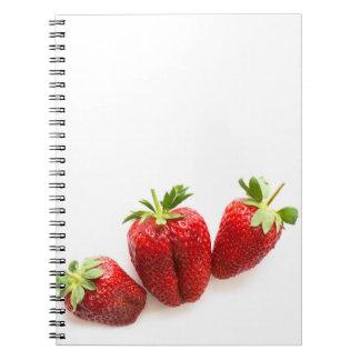 Cuaderno Fresas