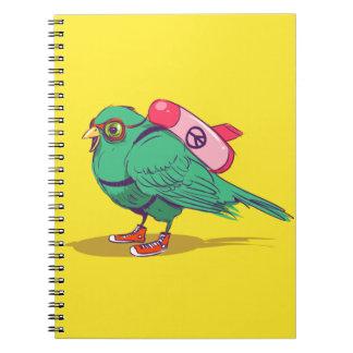 Cuaderno Funny bird