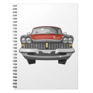 Cuaderno Furia 1959 de Plymouth
