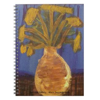 """Cuaderno Galería """"Fritillaries imperiales de Smeraldo de"""