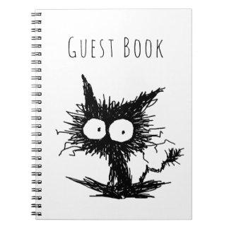 Cuaderno Gatito desalinado negro GabiGabi