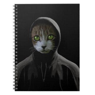 Cuaderno Gato de Gangsta