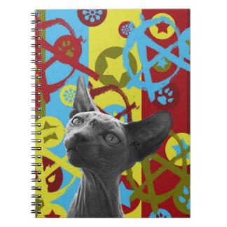 Cuaderno Gato de la anarquía