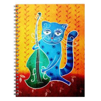 Cuaderno Gato y jazz