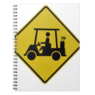 Cuaderno golf-travesía-muestra