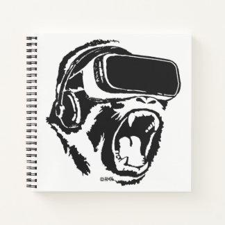 Cuaderno Gorila de VR