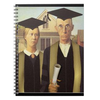 Cuaderno Graduado del americano