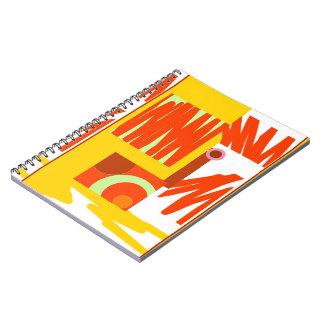 Cuaderno gráfico 80pg de Digitaces de la mostaza