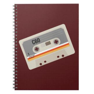 Cuaderno Gráfico intrépido del casete del amante de la