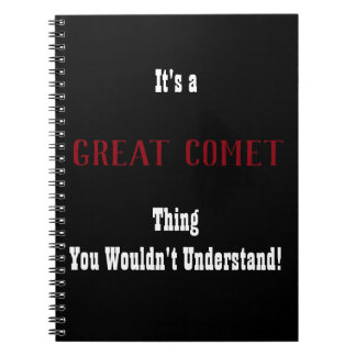 Cuaderno Gran diario del cometa