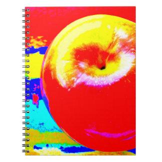 Cuaderno grande de la foto de Apple