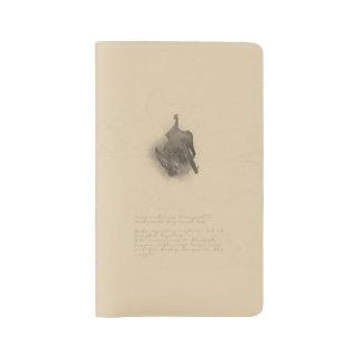 Cuaderno Grande-espigado del palo de Townsend