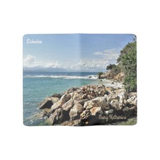 Cuaderno Grande Moleskine Costa costa escénica de Labadie personalizada