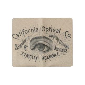 Cuaderno Grande Moleskine Vintage que hace publicidad del ojo óptico