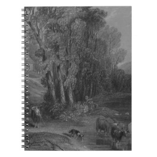 Cuaderno Granja y río Nith de Ellisland