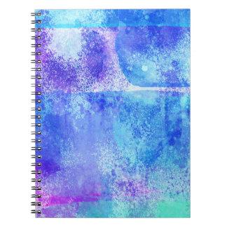 Cuaderno Grunge de la acuarela