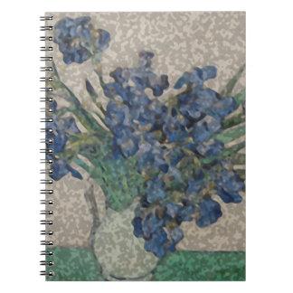 Cuaderno Grunge Van Gogh