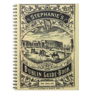 Cuaderno Guía turística de Dublín personalizada