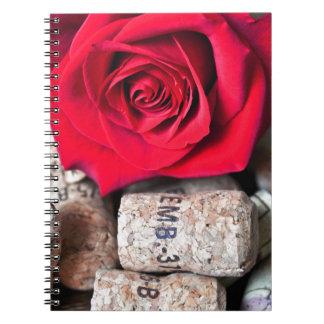 Cuaderno HABLA ROSA with cork