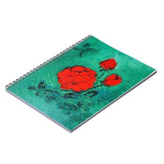 Cuaderno habla roses