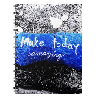Cuaderno Haga hoy sorprender