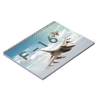 Cuaderno Halcón que lucha F-16