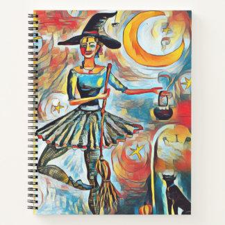 Cuaderno Halloween temático