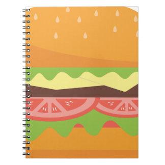 Cuaderno Hamburguesa
