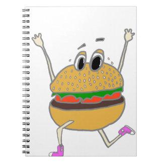 Cuaderno hamburguesa corriente