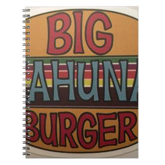 Cuaderno Hamburguesa de Kahuna