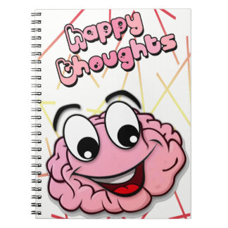 Cuaderno Happy Thoughts