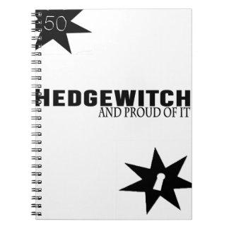Cuaderno Hedgewitch y orgulloso de él