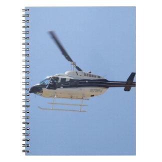 Cuaderno Helicóptero