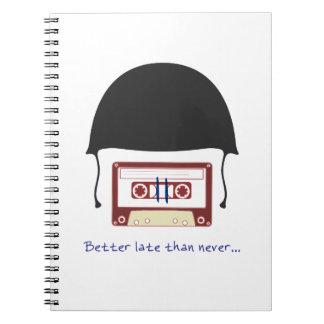 Cuaderno Helmet notebook