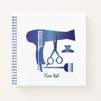 Cuaderno Herramientas de los peinados