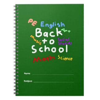Cuaderno HI54EDU de nuevo a escuela
