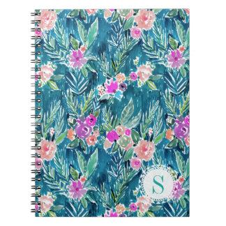 Cuaderno Hibisco TROPICAL del Hawaiian del PARAÍSO de la