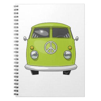 Cuaderno Hippie 1960 Van