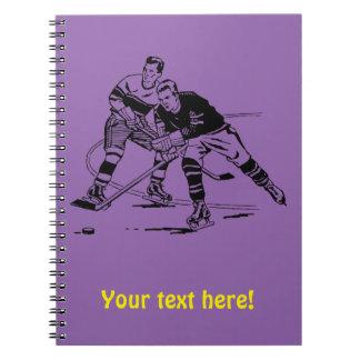 Cuaderno Hockey sobre hielo