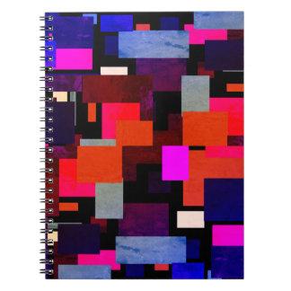 Cuaderno Hoja verde geométrica