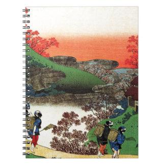 Cuaderno Hokusai - arte japonés - Japón