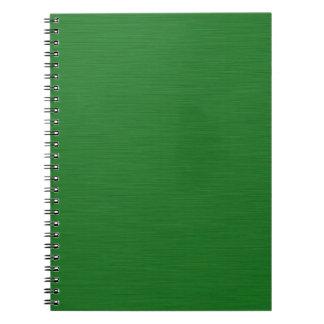 Cuaderno Holzmaserung verde